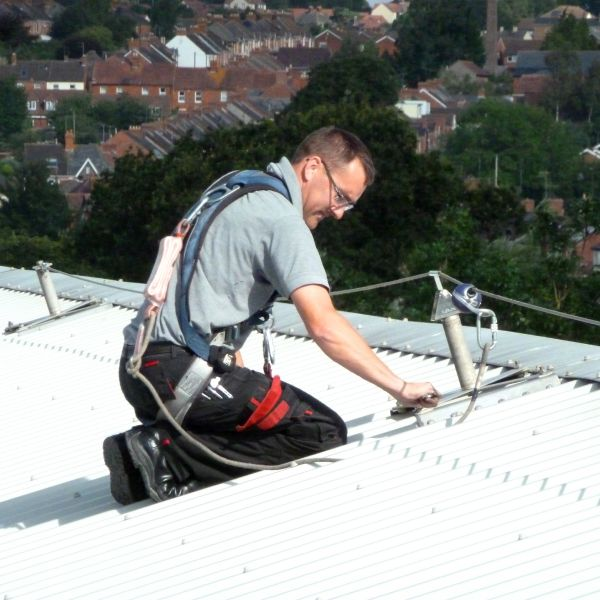 fall protection roof safety systems stq vantage