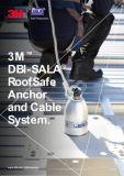 RoofSafe Anchor System brochure.  Mansafe lifeline fall arrest systems by STQ Vantage.