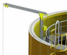 Davit access system for facade access. Safe And Versatile Abseil Rope Access Systems.