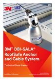 Technical Data Sheet, 3M DBI Sala RoofSafe Anchor and Cable System