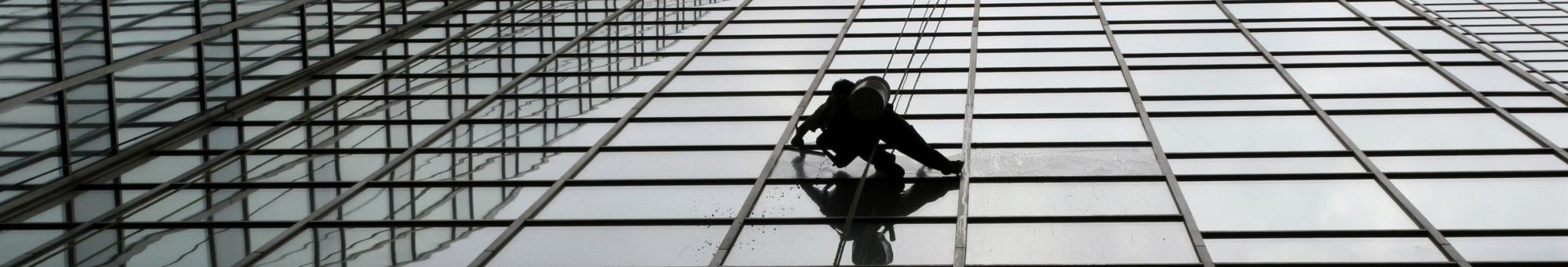 High level window & facade cleaning