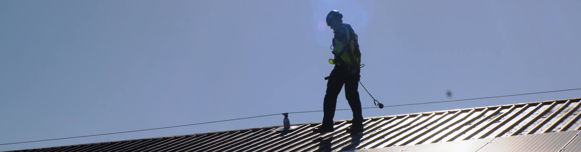 SAFETY LINE FALL PROTECTION INSTALLATIONS